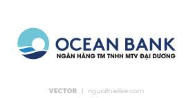 Logo ngân hàng OCEAN BANK vector