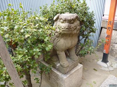 神津神社福永稲荷神社狛犬