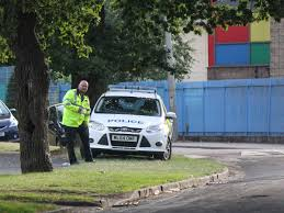 Man fighting for his life after his car crashed into a tree in Wythenshawe.