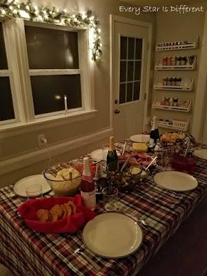 A Minimalist Montessori Home Tour: The Dining Room-Christmas Decor