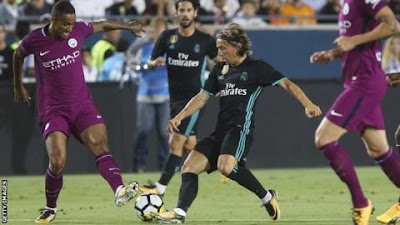 Manchester City thrash Real Madrid 4-1 in Los Angeles as Danilo makes debut