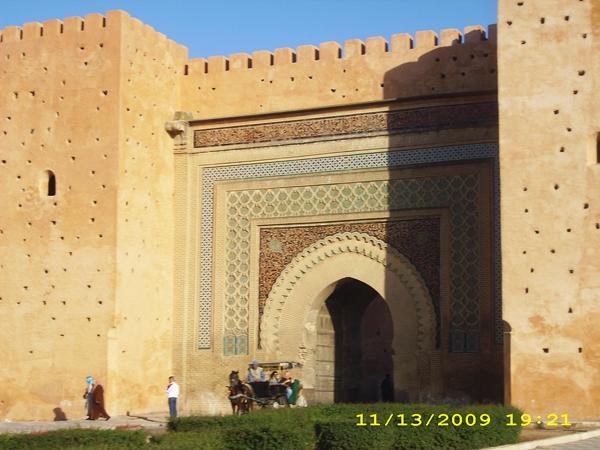 poarta-meknes-oras-turistic-maroc