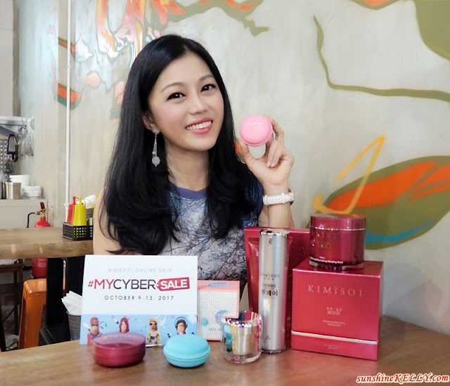 MYCYBERSALE 2017 The Biggest Online Sale ft KIMISOI Skincare Review