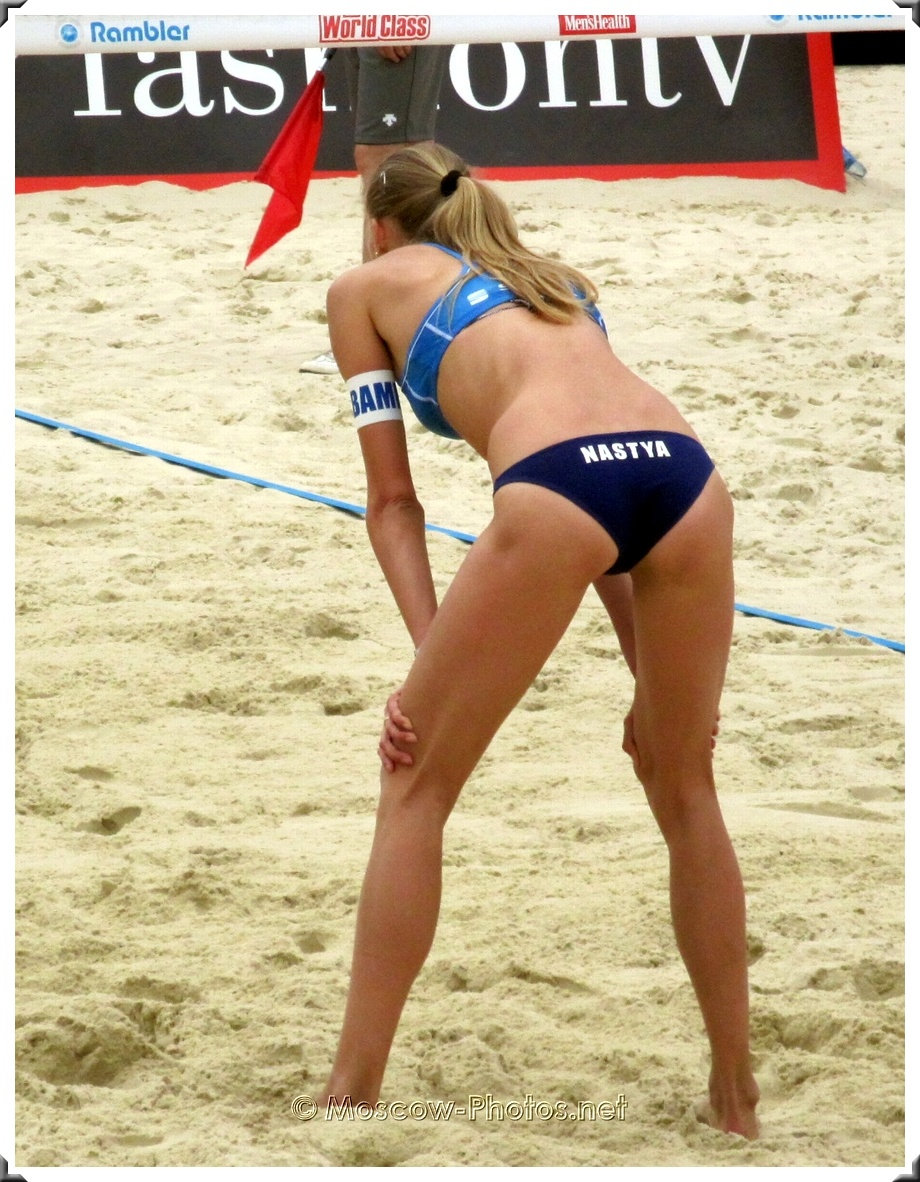 Defense of Russian Beach Volley Team