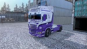 Jennse Grendolph skin for Scania RJL