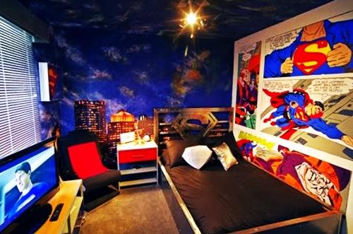 Motif wallpaper dinding untuk kamar tidur anak for Chambre gaming