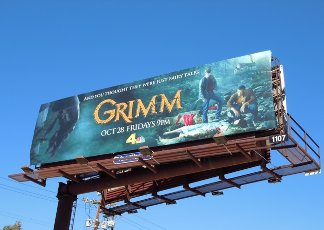 Grimm TV billboard