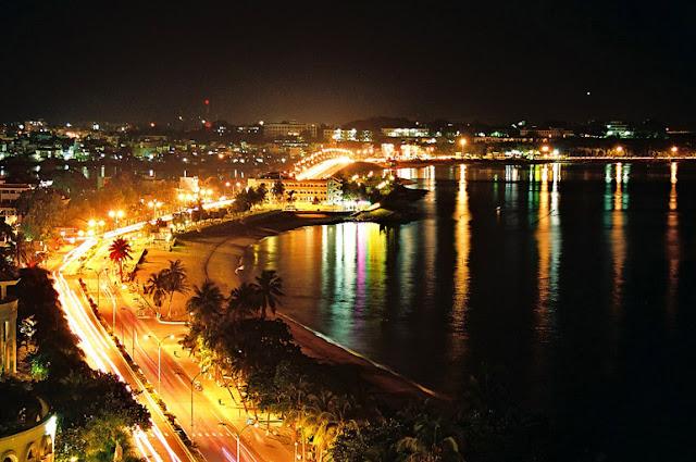 Cảm nhận vẻ đẹp buổi đêm ở phố biển Nha Trang