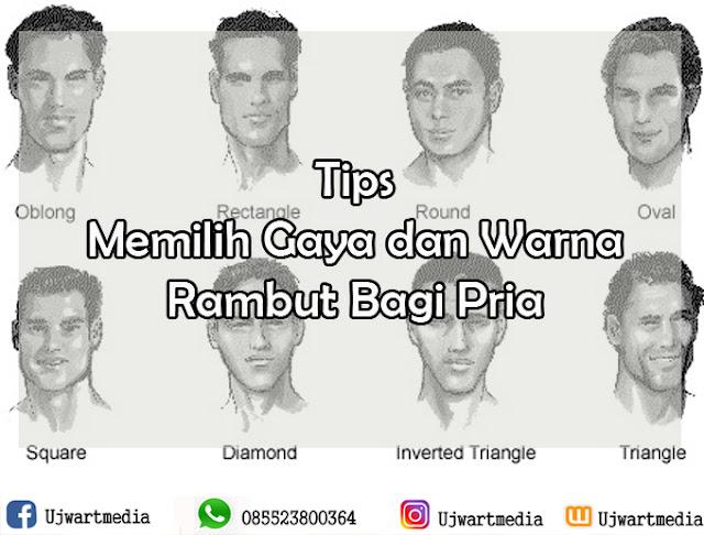 Tips Memilih Gaya dan Warna Rambut Bagi Pria
