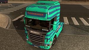 Scania R North Floombargh skin mod