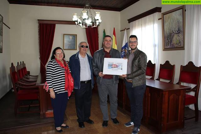 Presentación del cupón de la ONCE que saldrá a nivel nacional el próximo miércoles 14 de noviembre con la imagen de Puntagorda