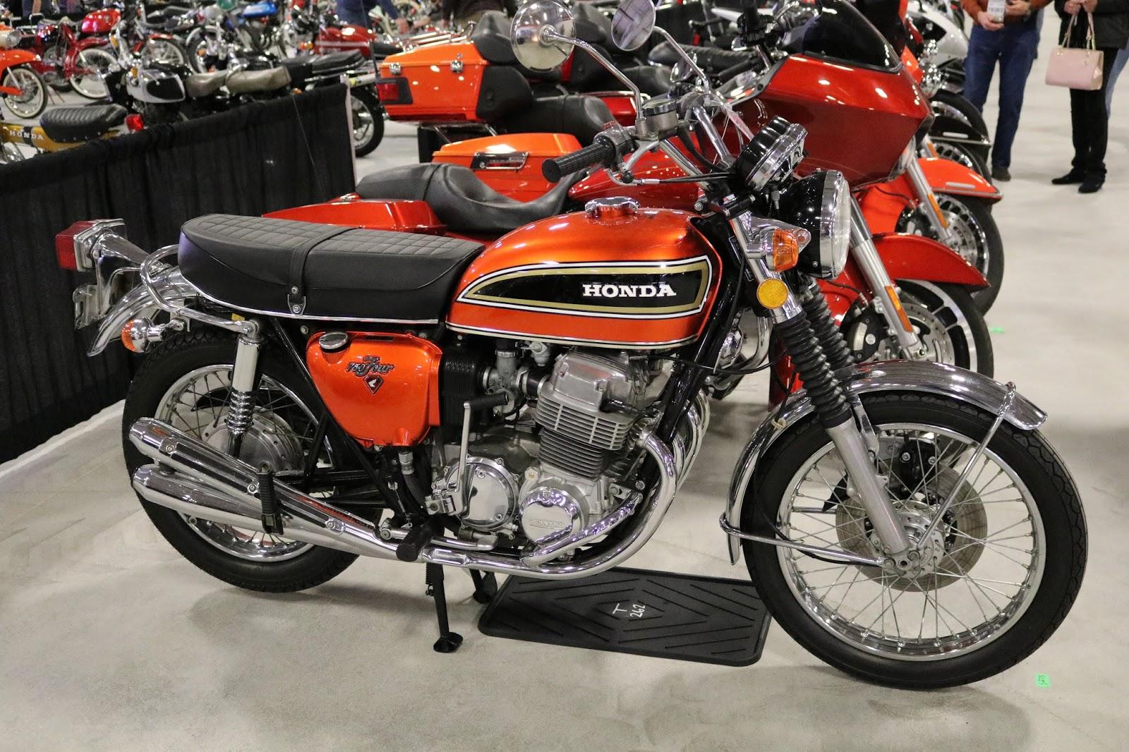 Oldmotodude 1973 honda cb750 sold for 8 500 at the 2017 for Las vegas honda