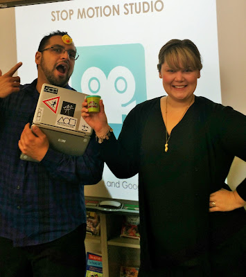 Rapid City Public Library Makerspace (CHAOS) Manager: Stephen Tafoya and Teen Librarian: Taylor Calderon