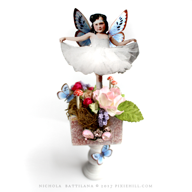Petal Stool Fairies - Nichola Battilana