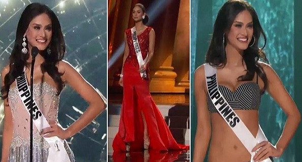 Miss Universe-Philippines 2015 Pia Wurtzbach in the Preliminary Competition