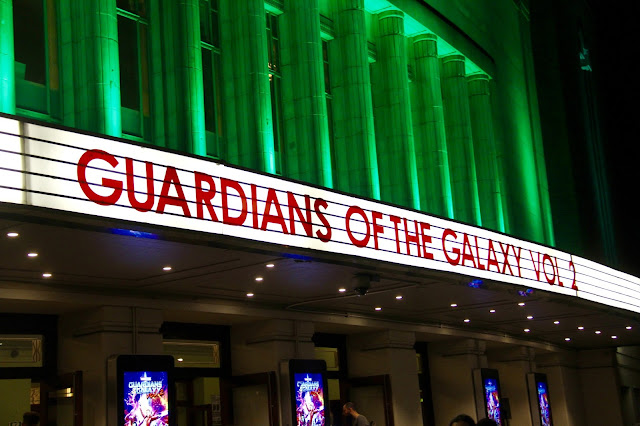 Guardians of the Galaxy Vol 2 Hammersmith Apollo