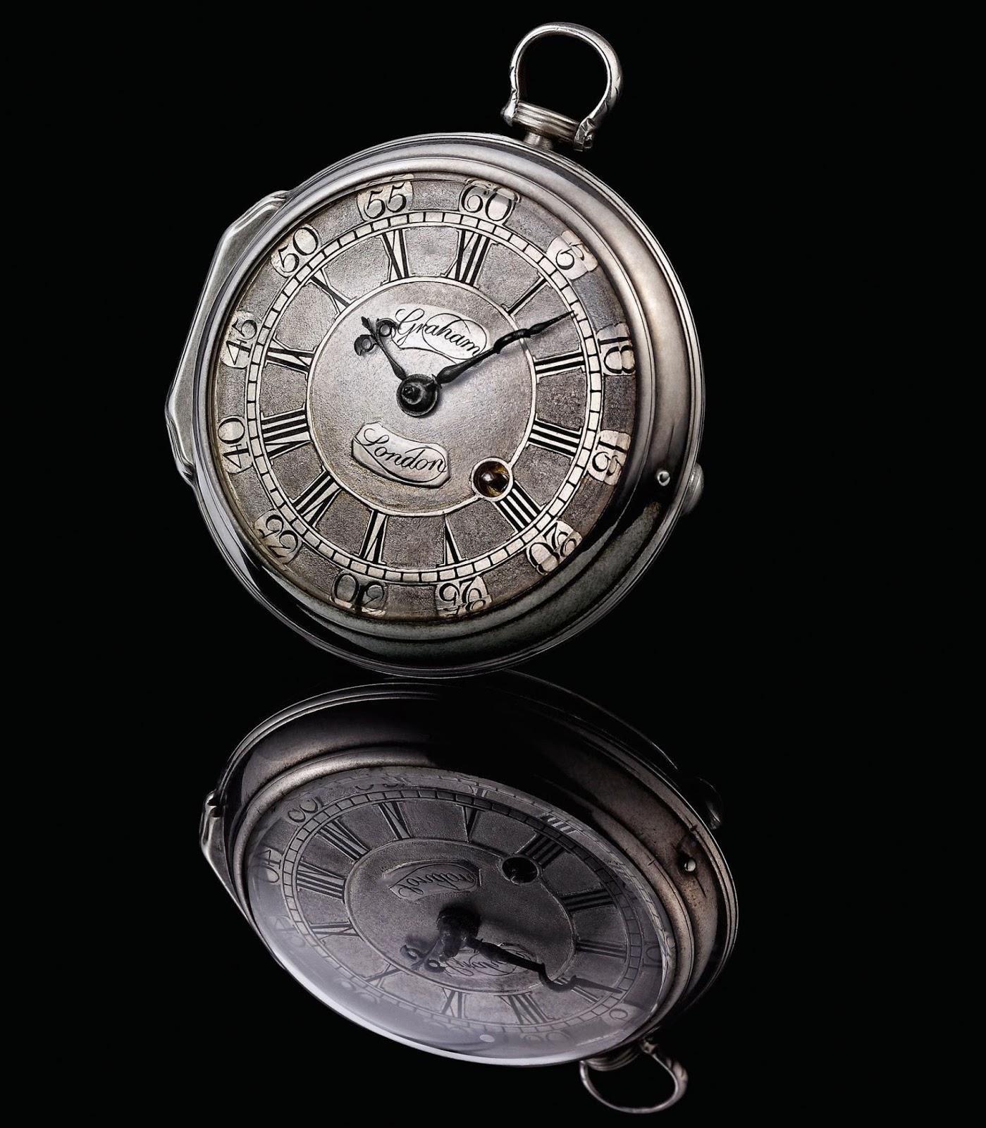 Original pocket watch by George Graham, circa mid-1720s