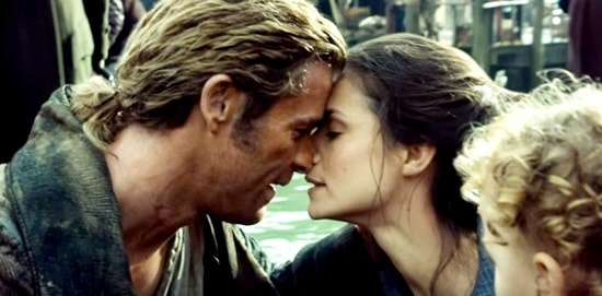 Chris Hemsworth e Charlotte Riley- Heart of the Sea