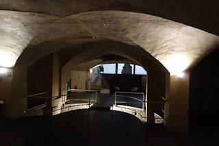 Dark Passageways Doorways Marino Marini Museum Florence Italy