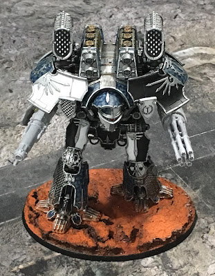 Legio Tempestus Warlord Battle Titan for Adeptus Titanicus - optional arms WIP