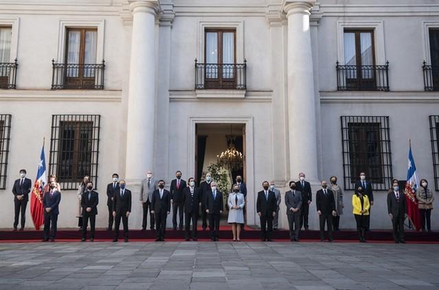 gabinete del Gobierno de Sebastián Piñera