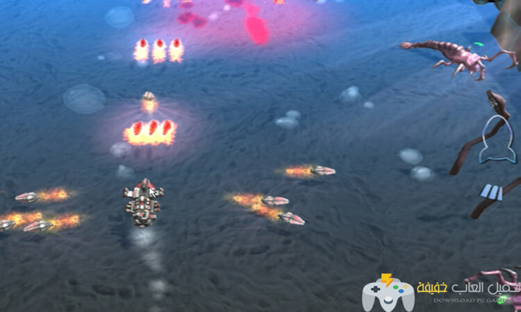 تحميل لعبه حرب الغزاة Submarine vs Invaders للكمبيوتر