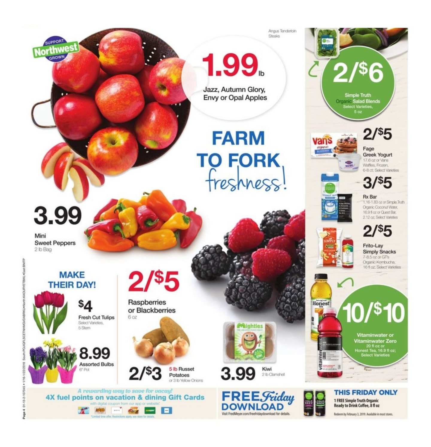 Fred Meyer Weekly Ad January 16 – 22, 2019 | Grocery Weekly Ads