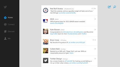 Twitter releases app for Windows 8 and Windows RT devices