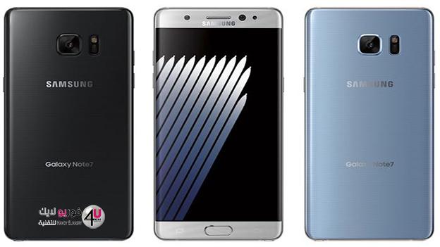 خبر مؤكد: هاتف Galaxy Note 7 يأتي بكاميرا خلفية بدقة 12 ميجابكسل