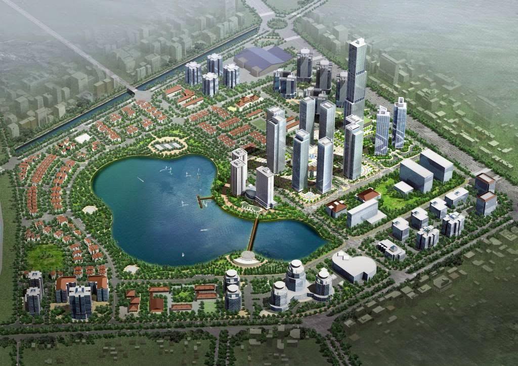 Green Stars - mô hình đô thị kiểu mẫu bậc nhất Hà Nội