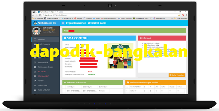 TRIK Instal Ulang Aplikasi Dapodik Anti Error