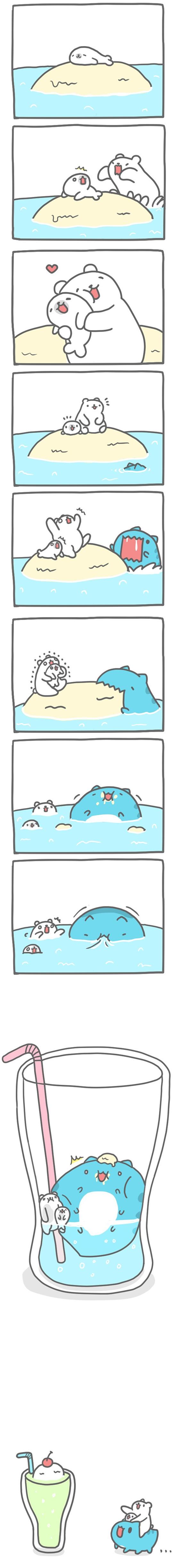 Truyện Mìn Lèo #119: Mẹ con nhà hải cẩu