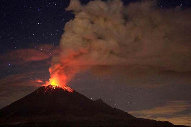 vulcões ativos