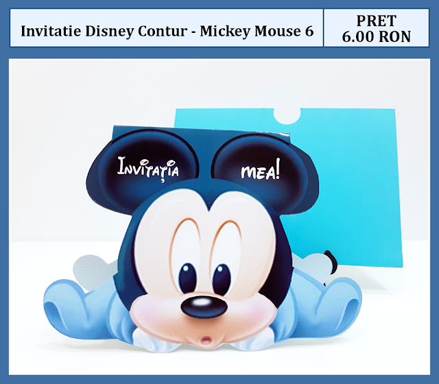 invitatii mickey mouse