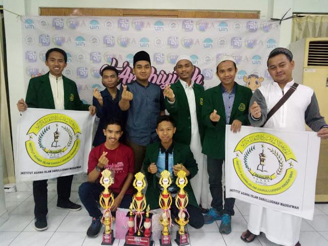 IAI Dalwa Borong Juara I di ALF UIN Syarif Hidayatullah Jakarta | lpm dalwa | dalwa