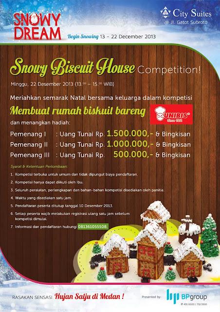 Hujan Salju di Medan - Snowy Biscuit House Competition https://www.ceritamedan.com/