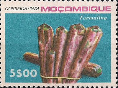Turmalina, Mozambique, 1979. Colección filatélica de Pedro Fandos Rodríguez