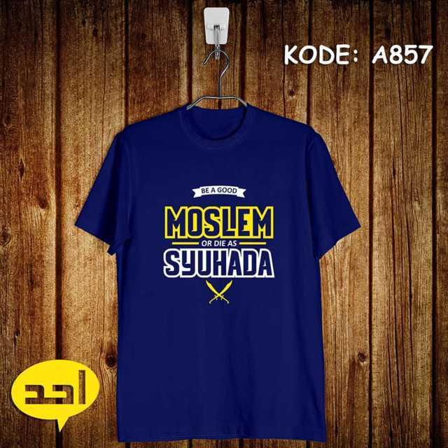 Jual Kaos Dakwah Moslem Suhada