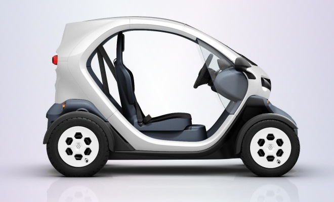 Renault Twizy Urban from the side