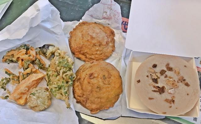 古早味素食~新莊素食蚵嗲、蔬食炸物、碗粿