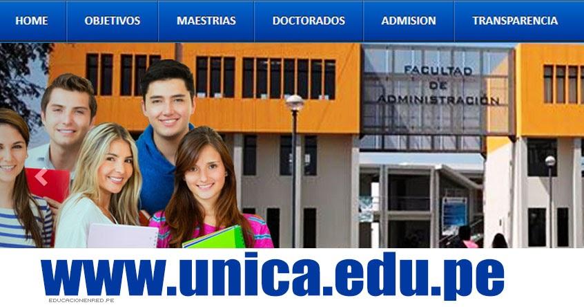 Resultados UNICA 2017-2 (28 Diciembre) Ingresantes Universidad Nacional San Luis Gonzaga de Ica - www.unica.edu.pe