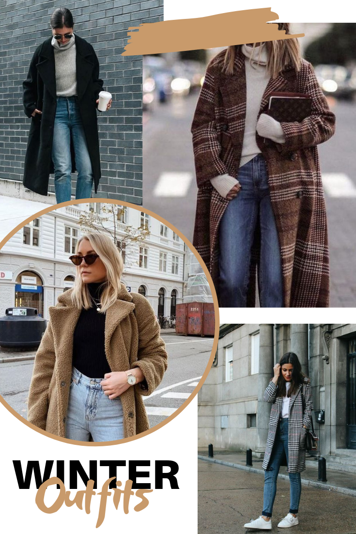 Inspirações de outfits de inverno