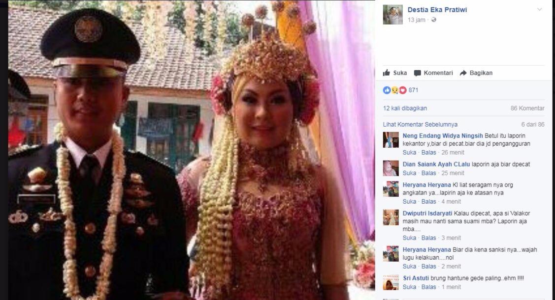Curhat Di Facebook Wanita Ini Syok Suami Menikah Siri Diam Diam Dengan Kaprodi Univ Swasta Di Tegal Simak Faktanya