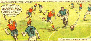 Melchester Rovers vs Cobdale United 1955/56