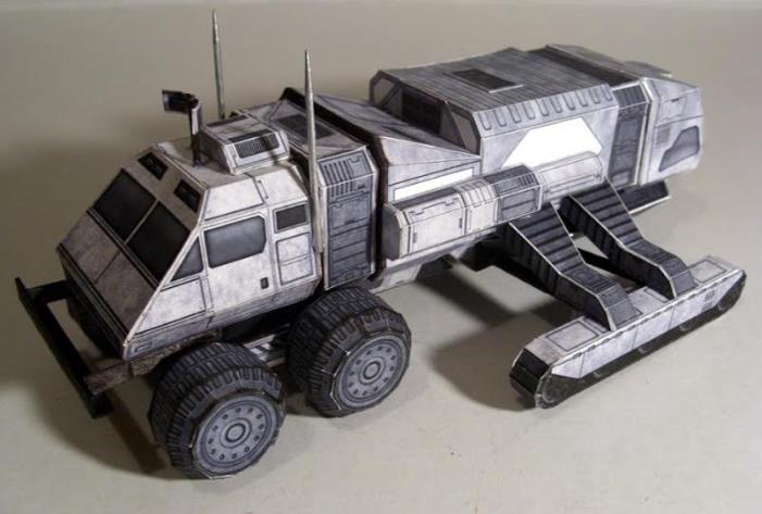 custom paper models