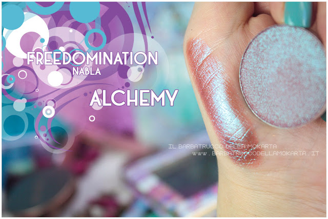 alchemy nabla cosmetics swatches freedomination collection summer eyeshadow