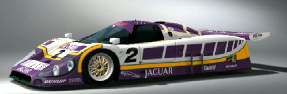 Jaguar XJR-9 Race Car 1988