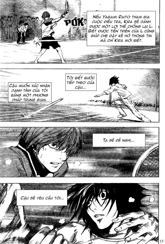 Death Note chapter 020 trang 16