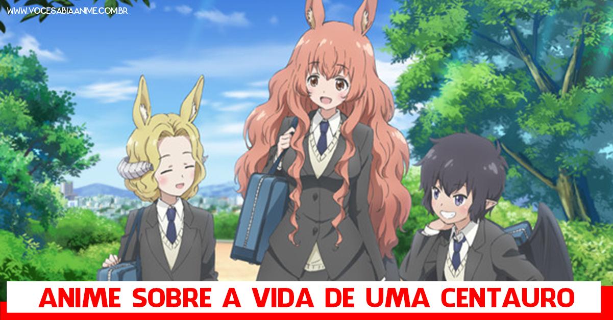 """Novo anime sobre Monster Girls: """"Centaur no Nayami"""""""