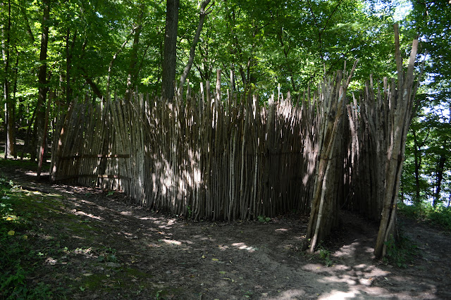 sticks making fencing